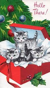8902 best cats christmas community board images on pinterest