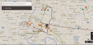 bangkok map tourist attractions about bts bangkok thailand airport map bai po bangkok map