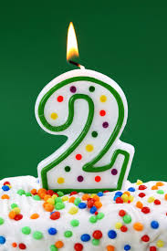 number birthday candles number two birthday candle stock image image of year 12938775