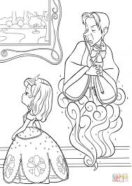 film princess sofia coloring st patrick u0027s day coloring pages