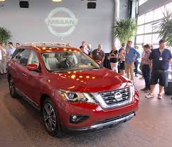 nissan pathfinder 2017 interior 2017 nissan pathfinder specs prices press kit tach michigan