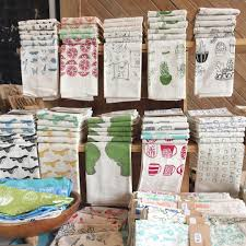 kitchen towel craft ideas craft fair display ideas for napkins or tea towels etsy seller
