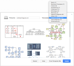 how to create application architecture diagram online in free
