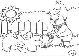 coloriage jardin les beaux dessins de nature à imprimer et colorier