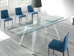 coffee table extendable top modern glass table lesdonheures com