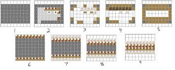 small house blueprint minecraft houses plans modern house blueprints step by pe ideas
