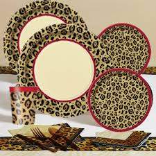 cheetah print party theme cheetah leopard print party pack