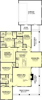 narrow lot house plan home design overlook house plans craftsman style and narrow lot