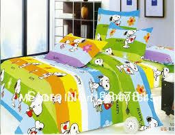 Snoopy Bed Set Beautiful 100 Cotton 4pc Doona Duvet Quilt Cover Set Bedding