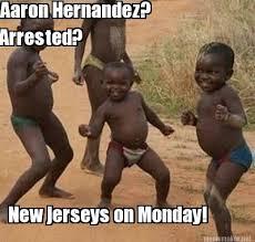 Hernandez Meme - meme maker aaron hernandez arrested new jerseys on monday