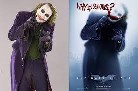 publicity photos heath ledger as the joker