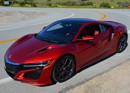 amazing results from honda u0027s 2017 acura nsx