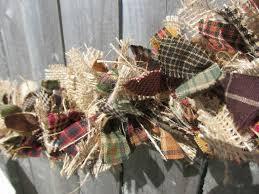 best 25 rag garland ideas on ribbon garland diy rag