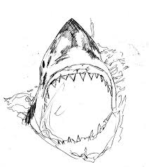 killer shark drawing by alexis wright on newgrounds