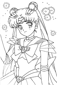 http www hollowmoon net sites tsuki sailor moon coloring pages