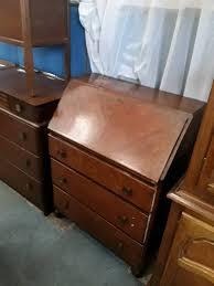 medium brown wood office bureau desk in newcastle tyne and wear