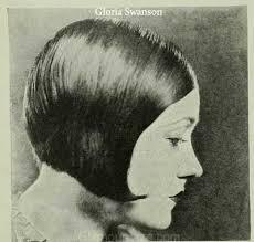 bobbed haircut with shingled npae advent of the gloria shingle gloria swanson sent flappers to