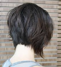 side and back views of shag hairstyle 40 short super spunky shag hairstyles