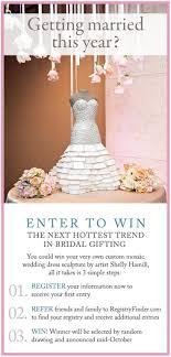 wedding gift registry finder 7 best a unique wedding gift the mosaic wedding dress sculpture