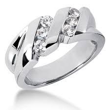 platinum rings women images Gold womens diamond wedding ring 060ct platinum rings for women jpg
