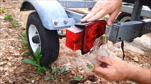 Fix It Busted Off Boat Rv Cer Trailer Light Youtube