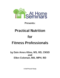 practical nutrition for fitness professionals physical therapy