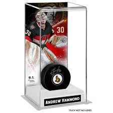 Display Case For Sale Ottawa Ottawa Senators Andrew Hammond Fanatics Authentic Deluxe Tall