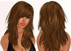 haircuts with lots of layers and bangs 264 best layers images on pinterest long shag haircut hair