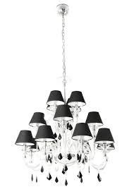 single shade chandelier crystal chrome chandelier pendant light with drum shade