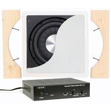 powered subwoofer for home theater system htd powered subwoofers