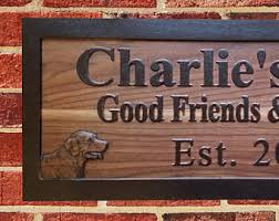 Personalized Home Decor Signs Custom Beer Sign Etsy
