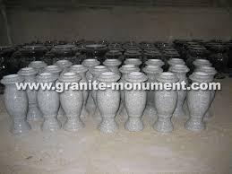 Flower Vase For Grave Marble Vases For Graves European Black Granite Flower Tombstone