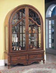 Modern Curio Cabinets Nice Used Curio Cabinets On Medallion Cherry Curio Cabinet 1189 98