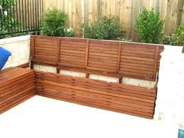 porch bench with storage outdoor bench with storage beefed up
