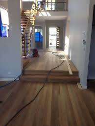Laminate Flooring Perth Prices Spotted Gum Timber Flooring Being Installed Into Main Foyer With