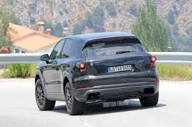Porsche Cayenne 1st Generation - spied next porsche cayenne goes weather testing in spain