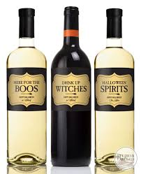 halloween wine bottle labels halloween wine label party favors drink up witches u2014 studio b