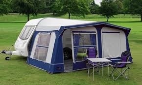 Caravans Awnings Pyramid Tuscany Full Caravan Awning 825 850 Cm As New In Burton