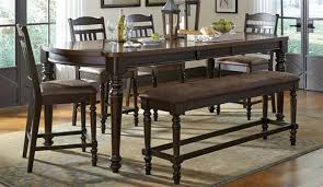 Counter Height Dining Room Furniture Mulligan 5 Piece Counter Height Dining Table Set In Latte Espresso