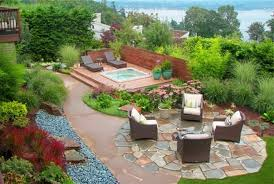 Modern Backyard Design Ideas Outdoor Landscape Design Ideas With And White Floor Also