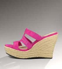 ugg wedge sandals sale uk genuine ugg boots ugg uk sale tawnie 1000404 raspberry sorbet