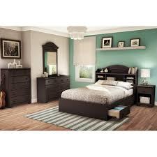 bedroom full platform bed drawers japanese style platform bed