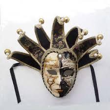 mardi gras wall masks volto resin jester venetian masquerade decorative wall mask