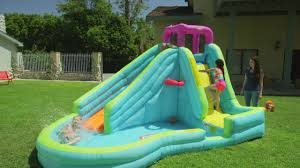 Backyard Blow Up Pools by Little Tikes Slam N U0027 Curve Slide Canadian Tire