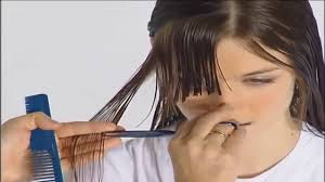 haircut for round face women haircut for long hair women youtube