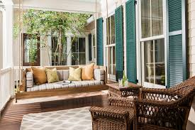 Modern Patio Swing Getting Ready For Summer Enliven Your Porch With Comfy Swings