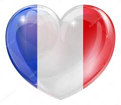 The France Flag French Flag Heart U2014 Stock Vector Krisdog 40612321