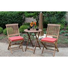 Wooden Patio Furniture Dining Room Marvelous Outdoor Bistro Set Create Enjoyable Outdoor