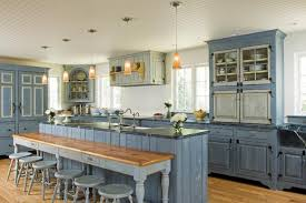 Diy Blue Kitchen Ideas Renovate Your Home Decor Diy With Unique Modern Kitchen Cabinets