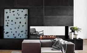 modern ethanol fireplace 16x48 concrete tiles paloform